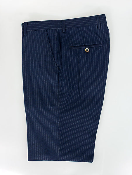 Roselli Slim Fit Pin Stripe Trousers