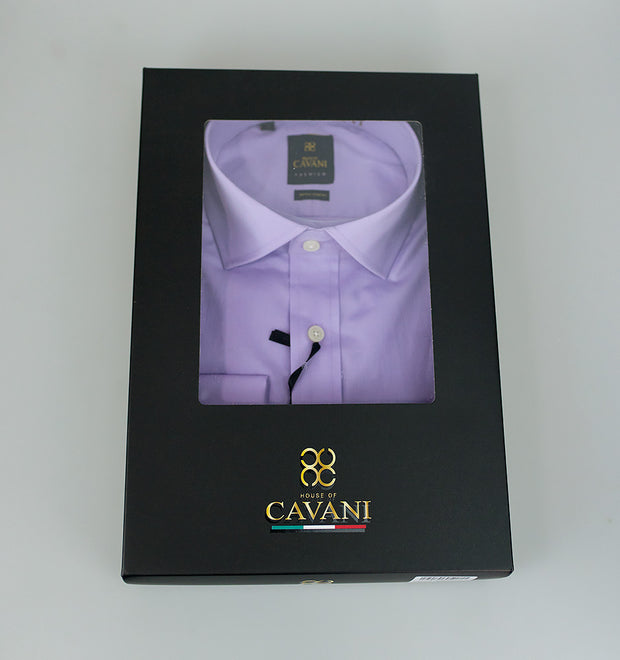 Rossi boxed Lilac Shirt