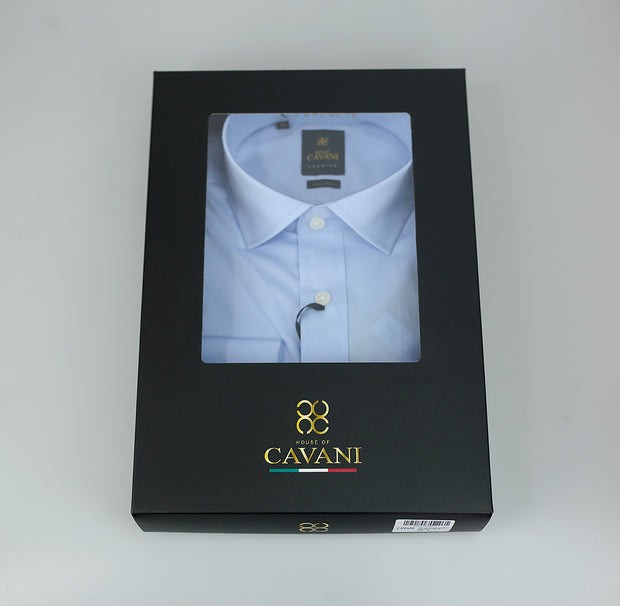 Rossi boxed Shirt Sky Blue