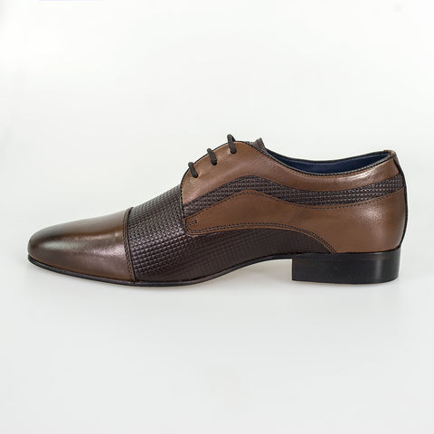 Ryan Brown Leather Signature Shoes
