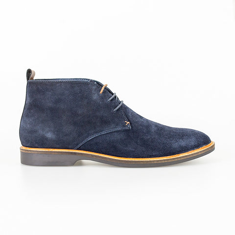 Sahara Navy Suede Boots