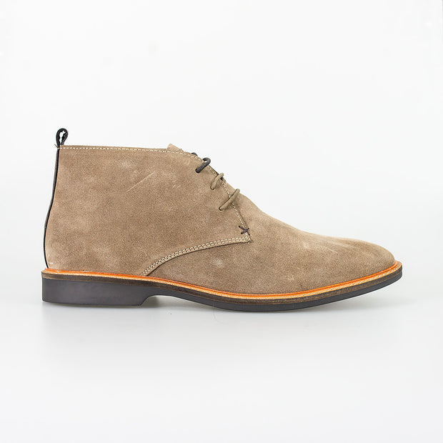 Sahara Sand Suede Boots