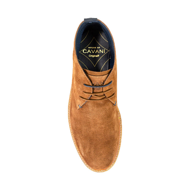 Sahara Tobacco Suede Boots