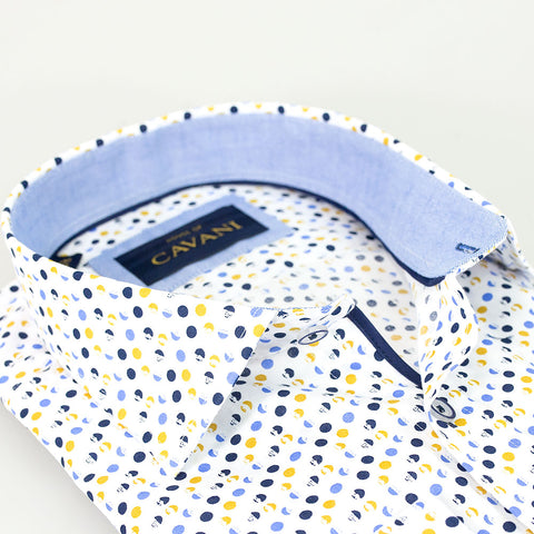 Shirt No. 654 Blue