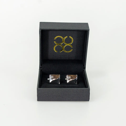 Warped Square Cufflinks