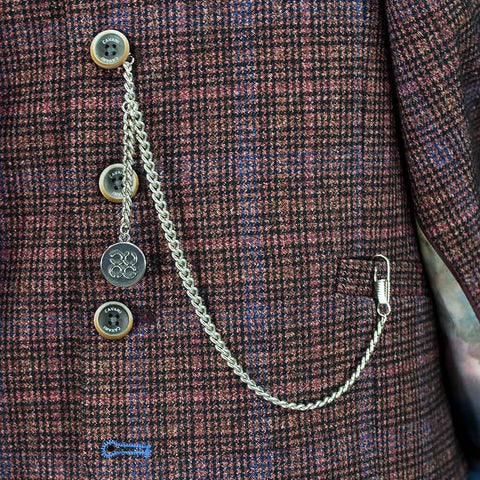 T-Bar Pocket Watch Chain