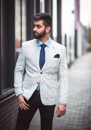 Radika Light Grey Blazer