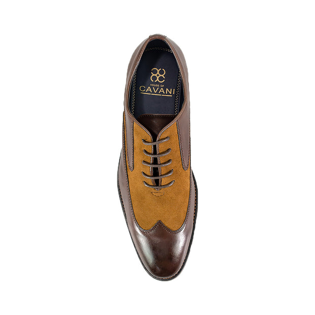 Tate Brown Tan Formal Shoes