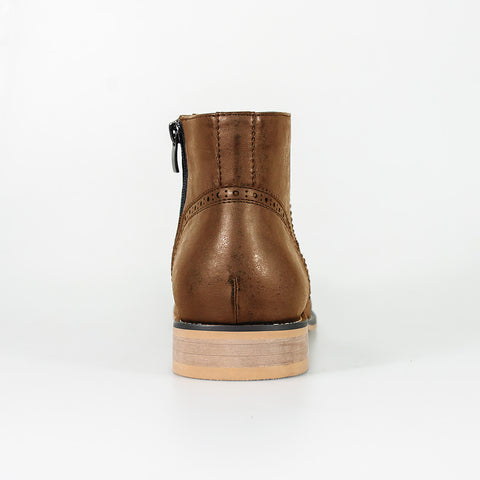 Westland Tan Chelsea Boots