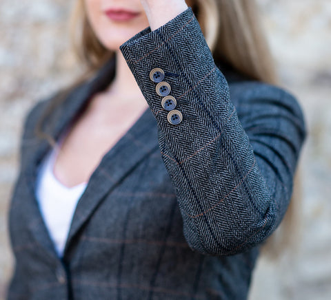 Albert Grey Women's Tweed Blazer