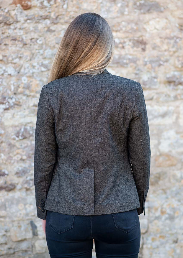 Martez Brown Women's Tweed Blazer