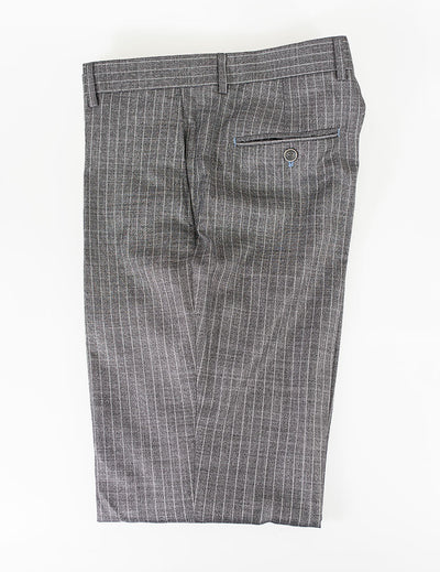 York Grey Pin Stripe Trousers