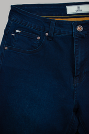 Elliot Navy Stretch Slim Fit Jeans