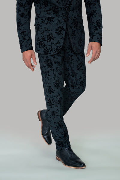 Georgi Floral Suit Trousers