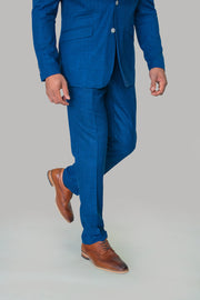 Miami Blue Slim Fit Trousers