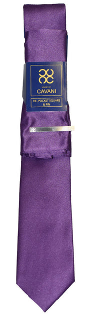 Purple Tie Set - Cavani