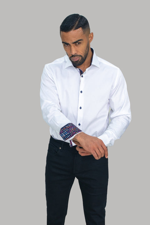 Rio White Premium Cotton Shirt