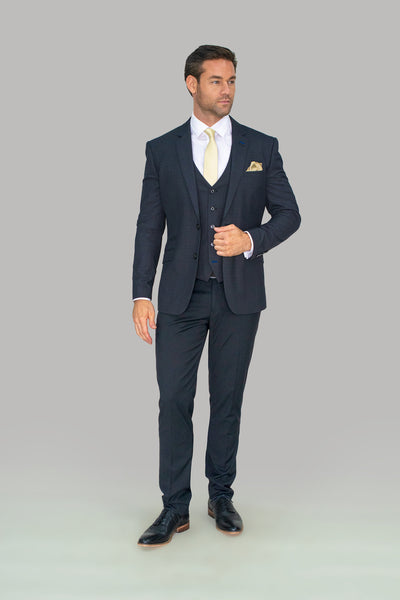 Seeba Graphite Three Piece Suit