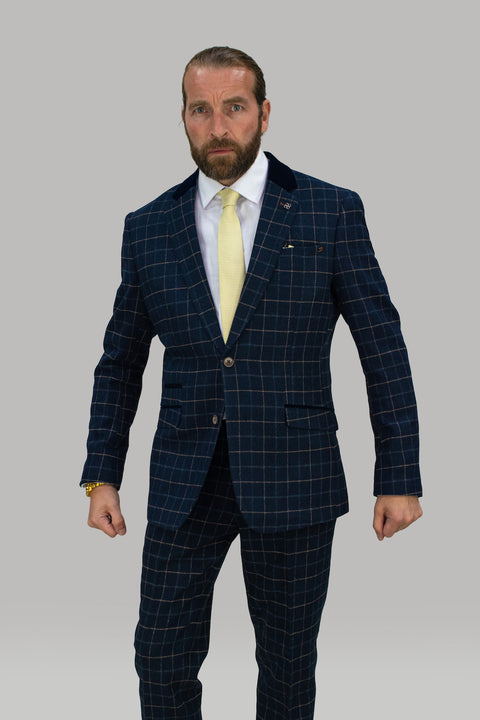 Shelby Tweed Check Blazer