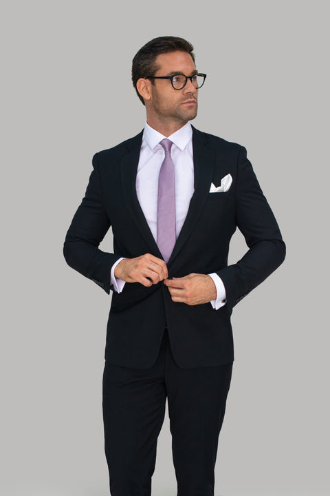 Marco Black Two Piece Slim Fit Suit