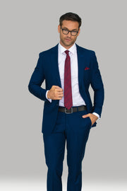 Jefferson Navy Three Piece Suit