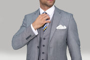Reegan Grey Wedding Suit