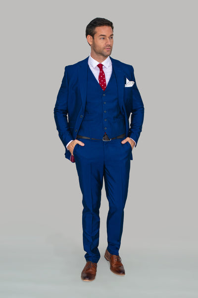Ford Blue Three Piece Suit