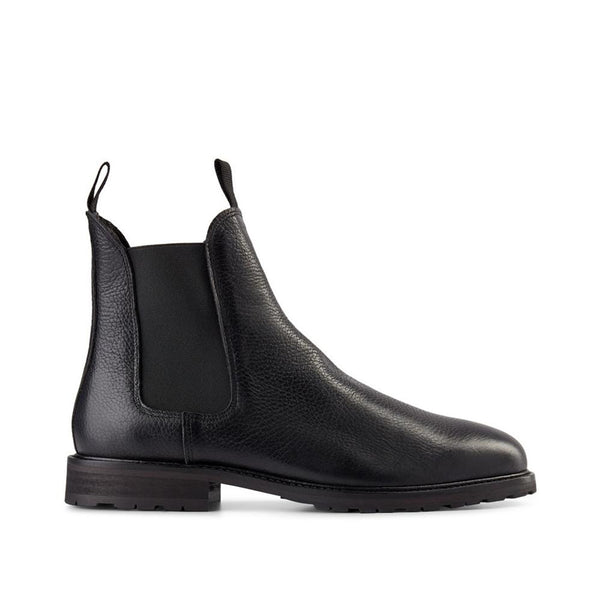 SHOE THE BEAR York Leather Chelsea Boot Chelsea Boots 110 BLACK
