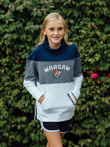 Youth Girls Tech Terry Slouchy Crew