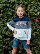 Youth Girls Tech Terry Slouchy Crew - Tiger Apparel