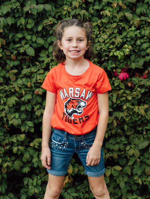 Youth Girl's T-Shirt - Tiger Apparel