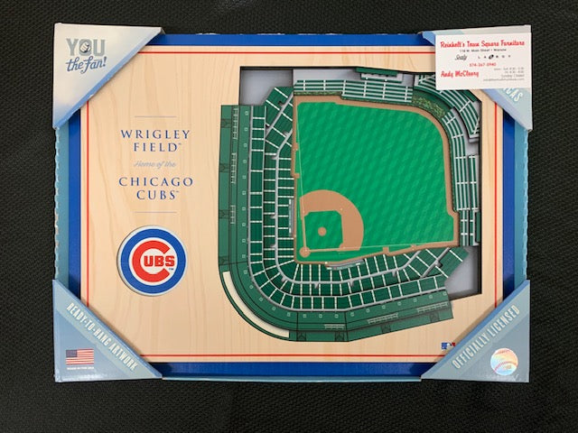 #106- Silent for Baseball: Cubs Stadium View Picture (263) - Tiger Apparel