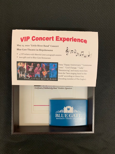 #6- Clearance Auction -Live Auction for Boys XC: Shipshewana VIP Concert Experience ($400 Value) - Tiger Apparel