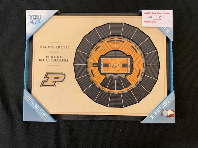 #221- Silent for Boys Basketball: Purdue Basketball Arena View Picture (444) - Tiger Apparel