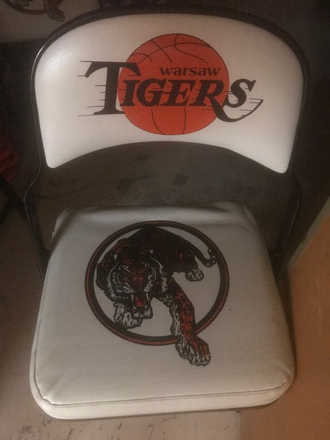 #10 Live Auction for general: Tiger Chair (5 total) (Value= Priceless) - Tiger Apparel