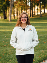 Women's Quarter Zip - Tiger Apparel
