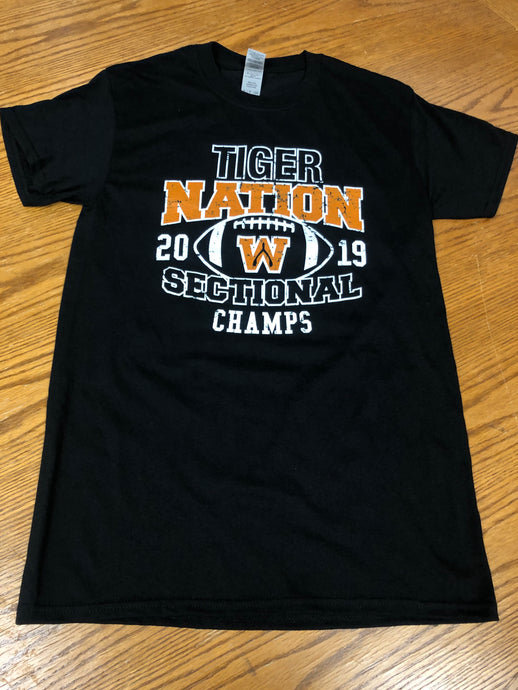 Tiger Sectional Champs Tee - Tiger Apparel