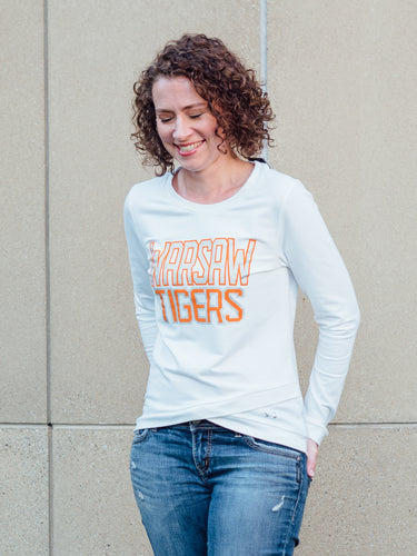Women's Cross Over Crew - Tiger Apparel