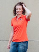 Women's Embroidered Polo - Tiger Apparel