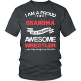 Proud Grandma of An Awesome Wrestler T-Shirt
