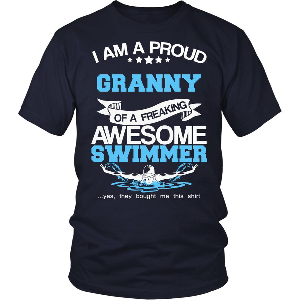 Proud Granny of An Awesome Swimmer T-Shirt