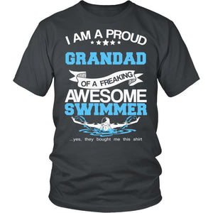 Proud Grandad of An Awesome Swimmer T-Shirt