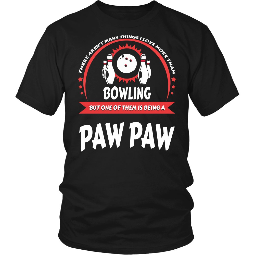 This Paw Paw Loves Bowling T-Shirt