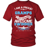 Proud Gramps of An Awesome Swimmer T-Shirt