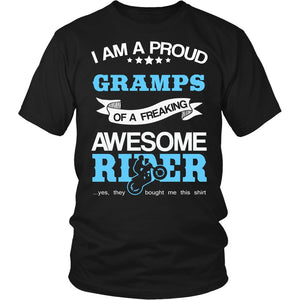 Proud Gramps of An Awesome Motocross Rider T-Shirt
