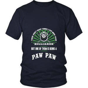 This Paw Paw Loves Billiards T-Shirt
