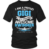Proud Gigi of An Awesome Swimmer T-Shirt