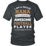 Proud Nana of An Awesome Football Player T-Shirt