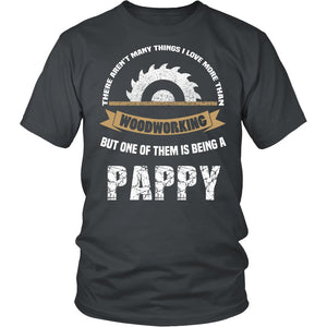 This Pappy Loves Woodworking T-Shirt