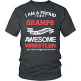 Proud Gramps of An Awesome Wrestler T-Shirt